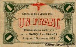 1 Franc FRANCE régionalisme et divers SAINT-DIZIER 1921 JP.113.22 TB