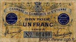 1 Franc FRANCE régionalisme et divers Saint-Étienne 1914 JP.114.01 TB