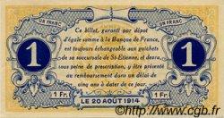 1 Franc FRANCE régionalisme et divers Saint-Étienne 1914 JP.114.02 SPL à NEUF