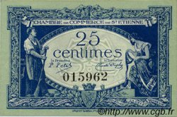 25 Centimes FRANCE régionalisme et divers Saint-Étienne 1921 JP.114.05 SPL à NEUF