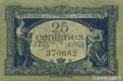 25 Centimes FRANCE régionalisme et divers SAINT-ÉTIENNE 1921 JP.114.05 TB