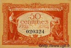 50 Centimes FRANCE régionalisme et divers SAINT-ÉTIENNE 1921 JP.114.06 SPL à NEUF