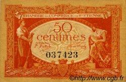 50 Centimes FRANCE régionalisme et divers SAINT-ÉTIENNE 1921 JP.114.06 TTB à SUP