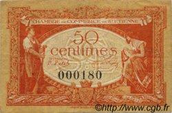 50 Centimes FRANCE régionalisme et divers SAINT-ÉTIENNE 1921 JP.114.06 TB