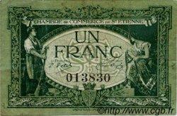 1 Franc FRANCE régionalisme et divers Saint-Étienne 1921 JP.114.07 TB
