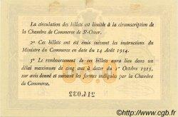 50 Centimes FRANCE régionalisme et divers Saint-Omer 1914 JP.115.01 TTB à SUP