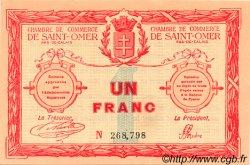 1 Franc FRANCE régionalisme et divers Saint-Omer 1914 JP.115.04 SPL à NEUF