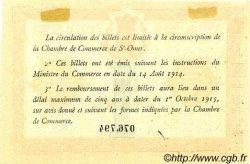 1 Franc FRANCE régionalisme et divers Saint-Omer 1914 JP.115.04 TTB à SUP