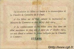 1 Franc FRANCE régionalisme et divers Saint-Omer 1914 JP.115.04 TB