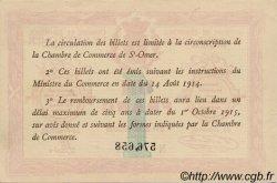 1 Franc FRANCE régionalisme et divers Saint-Omer 1914 JP.115.10 SPL à NEUF