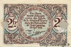 2 Francs FRANCE régionalisme et divers SAINT-QUENTIN 1918 JP.116.08 TTB à SUP