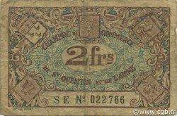 2 Francs FRANCE régionalisme et divers Saint-Quentin 1922 JP.116.09 TB