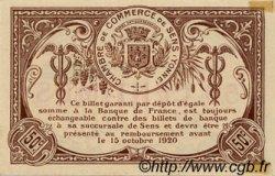 50 Centimes FRANCE régionalisme et divers SENS 1916 JP.118.02 SPL à NEUF