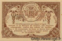 1 Franc FRANCE régionalisme et divers Sens 1916 JP.118.04 SPL à NEUF