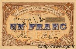 1 Franc FRANCE régionalisme et divers SENS 1916 JP.118.05 SPL à NEUF