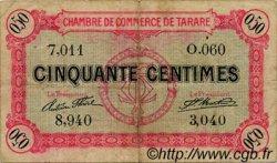 50 Centimes FRANCE régionalisme et divers Tarare 1916 JP.119.14 TB