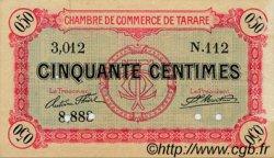 50 Centimes FRANCE régionalisme et divers Tarare 1916 JP.119.15 TTB à SUP