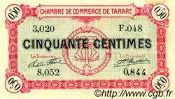 50 Centimes FRANCE régionalisme et divers TARARE 1916 JP.119.16 TTB à SUP
