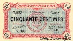 50 Centimes FRANCE régionalisme et divers Tarare 1917 JP.119.21 TTB à SUP