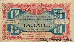 50 Centimes FRANCE régionalisme et divers Tarare 1917 JP.119.21 TB