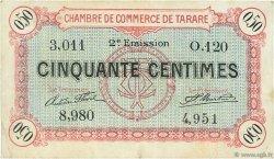 50 Centimes FRANCE régionalisme et divers TARARE 1917 JP.119.23 TB