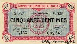 50 Centimes FRANCE régionalisme et divers TARARE 1917 JP.119.28 SPL à NEUF