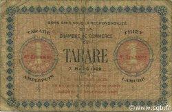 1 Franc FRANCE régionalisme et divers Tarare 1922 JP.119.33 TB