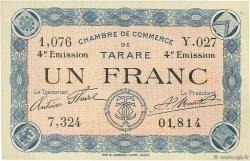 1 Franc FRANCE régionalisme et divers Tarare 1922 JP.119.34 SPL à NEUF