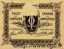 5 Centimes FRANCE régionalisme et divers TARARE 1920 JP.119.35 TTB à SUP
