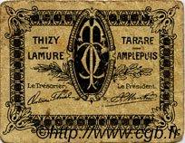5 Centimes FRANCE régionalisme et divers Tarare 1920 JP.119.35 TB