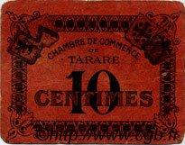 10 Centimes FRANCE régionalisme et divers Tarare 1920 JP.119.36 TB