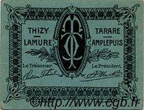25 Centimes FRANCE régionalisme et divers TARARE 1920 JP.119.37 TTB à SUP