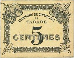 5 Centimes FRANCE régionalisme et divers Tarare 1920 JP.119.38 SPL à NEUF