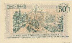 50 Centimes FRANCE régionalisme et divers TARBES 1915 JP.120.01 SPL à NEUF
