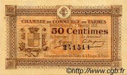50 Centimes FRANCE régionalisme et divers Tarbes 1915 JP.120.01 TTB à SUP