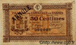 50 Centimes FRANCE régionalisme et divers Tarbes 1915 JP.120.03 TB