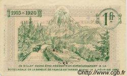 1 Franc FRANCE régionalisme et divers Tarbes 1915 JP.120.06 SPL à NEUF