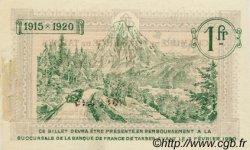 1 Franc FRANCE régionalisme et divers Tarbes 1915 JP.120.06 TTB à SUP
