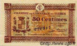 50 Centimes FRANCE régionalisme et divers Tarbes 1915 JP.120.08 TTB à SUP