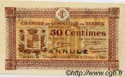 50 Centimes FRANCE régionalisme et divers Tarbes 1915 JP.120.09 SPL à NEUF