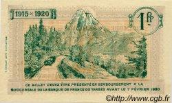 1 Franc FRANCE régionalisme et divers TARBES 1915 JP.120.11 SPL à NEUF