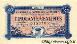 50 Centimes FRANCE régionalisme et divers Tarbes 1917 JP.120.12 TTB à SUP