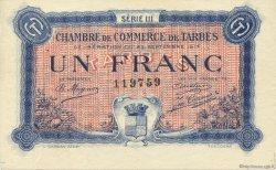 1 Franc FRANCE régionalisme et divers TARBES 1917 JP.120.14 SPL à NEUF