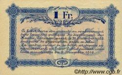 1 Franc FRANCE régionalisme et divers Tarbes 1917 JP.120.15 SPL à NEUF
