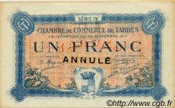 1 Franc FRANCE régionalisme et divers Tarbes 1917 JP.120.15 TTB à SUP