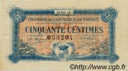 50 Centimes FRANCE régionalisme et divers TARBES 1917 JP.120.16 TTB à SUP