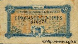 50 Centimes FRANCE régionalisme et divers Tarbes 1917 JP.120.16 TB