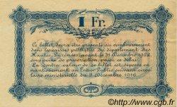 1 Franc FRANCE régionalisme et divers TARBES 1917 JP.120.18 TTB à SUP