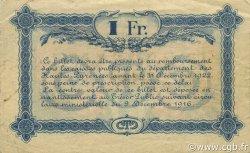 1 Franc FRANCE régionalisme et divers TARBES 1917 JP.120.18 TB