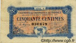 50 Centimes FRANCE régionalisme et divers TARBES 1919 JP.120.20 TB